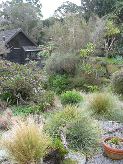 Te kainga marire new zealand 39 s native garden photo galley for New zealand garden designs ideas
